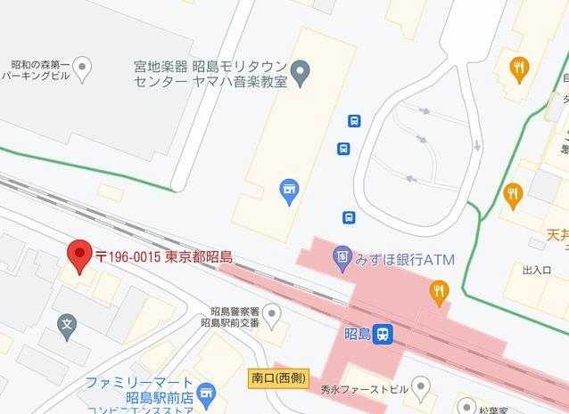 台湾夜市アクセスマップ